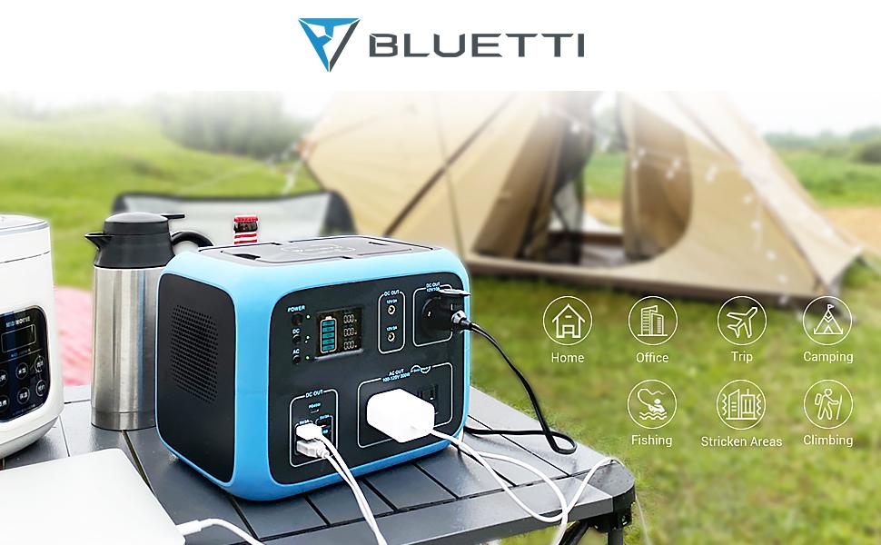 MAXOAK BLUETTI AC50S Portable Power Station, Power Indoor,Power Outdoor.