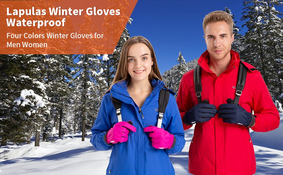 winter gloves for men and women