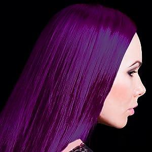Violet Night purple hair dye
