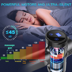 Handheld Electric Muscle Massager