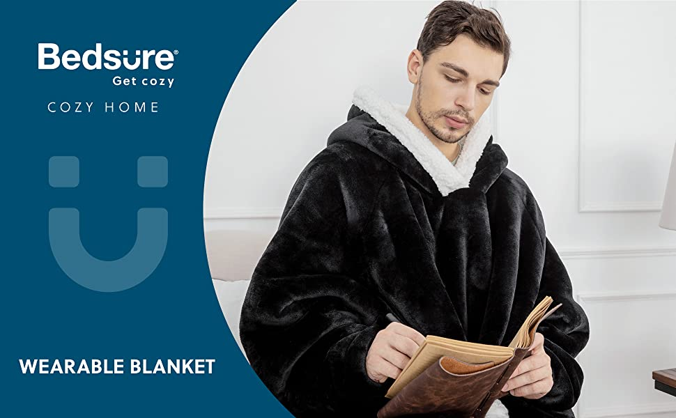Bedsure get cozy home Wearable Blanket