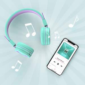 childrens headphones kids headphones bluetooth headphones with microphone wired headphones for kids