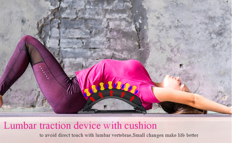 back stretcher with mesh cushion