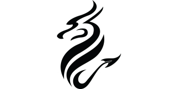 dragon glassware emblem logo