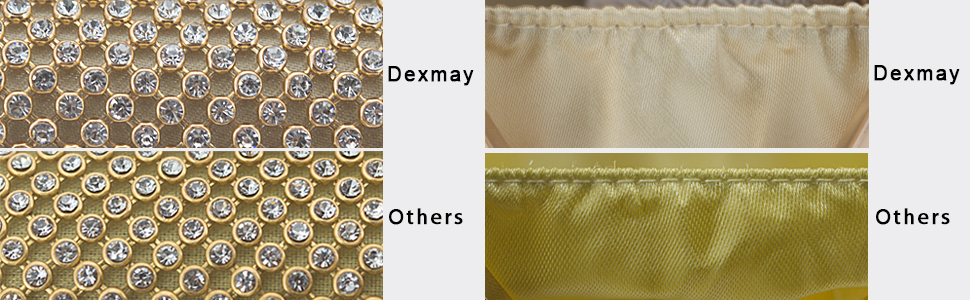 Material for crystal clutch