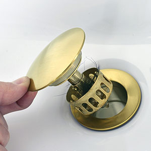 push drain gold