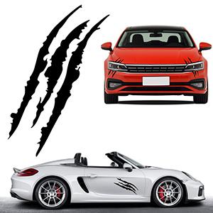 Auto Monster Klaue Kratzer Marks
