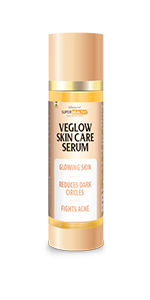 Super Healthy Veglow Skin Care Serum| For Instant Fairness and Glowing Skin and Fights Acne