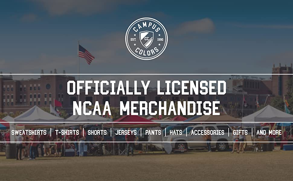 Officially Licensed NCAA Merchandise. Sweatshirt. T-shirts. Shorts. Jerseys. Pants.Hats.Gifts amp; more