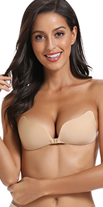 Adhesive bra