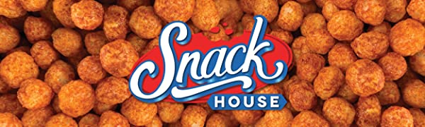Snack House Logo Puffs Flaming Red Hot