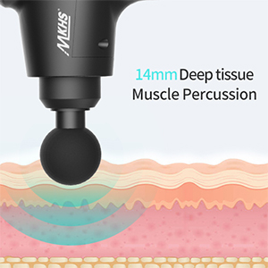 deep tissue massage gun percussion massage gun