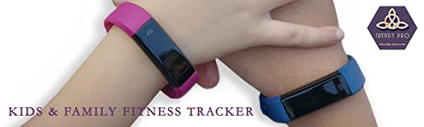 Kids and Family Fitness and Activity Tracker by TRENDY PRO