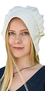 Haube Kopfbedeckung Mittelalter