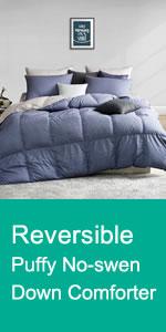 Reversible Down Comforter