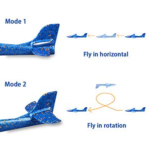 Throwing Foam Plane