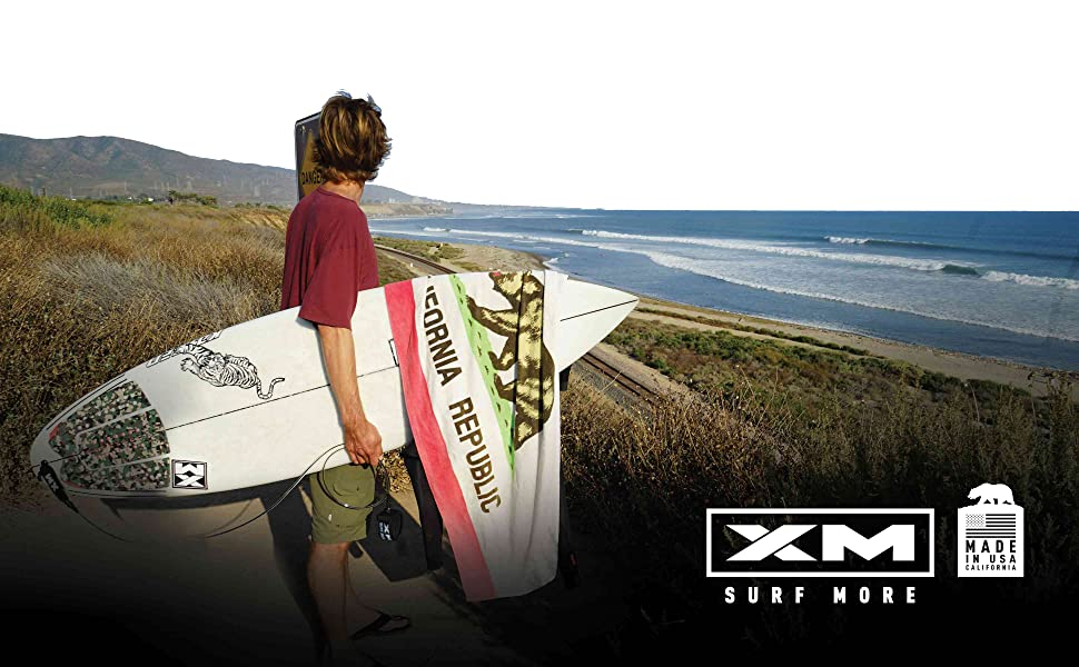 XM SURF MORE SURFBOARD SUP BODYBOARD LEASHES MADE IN USA CALIFORNIA SAN CLEMENTE XM POWER CORD
