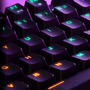 Energy Sistem Gaming Keyboard ESG K6 Mechanik (Teclado USB, Luces LED Efecto Rainbow, Teclado mecánico TKL)