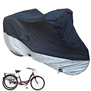 tricycle cover bike bicycle protection water resistant repellent dust free formosa schwinn
