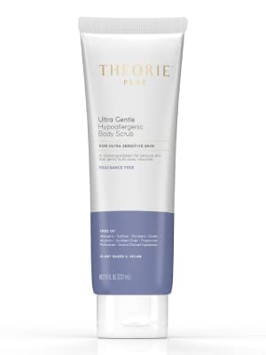 Theorie Pure Ultra Gentle Hypoallergenic Body Scrub For Ultra Sensitive Skin