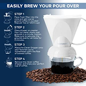 Clever Clever Coffee Dripper coffee dripper one-cup coffee maker