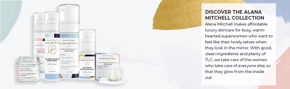 Alana Mitchell All Skin Types Set, Anti-Aging, Skincare Kit, Skincare Collection, All Skin Types