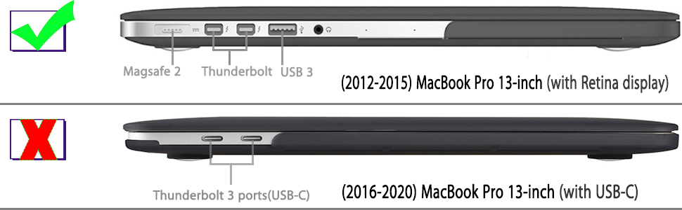 Clear Retina, 15 inch, Mid 2012//2013// 2014// Mid 2015 UESWILL Matte Hard Case Cover for MacBook Pro No CD-ROM Model A1398 No Touch Bar