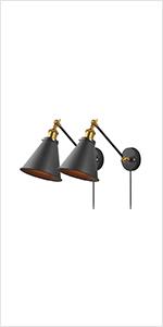 Industrial Bedroom Wall Lamps