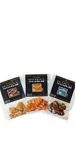 天狗味噌シリーズ 秋田 さかなの味噌漬け燻製 鰈 鮭 鯖 かれい さけ さば 各30g 3袋セット