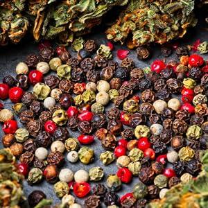 Caryophyllene terpene ingredient for sleep and relaxation