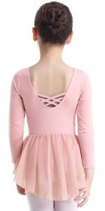 girls swing dress long sleeve