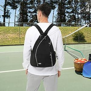 tennis bag backpack pickleball bags pickleball balls indoor tennis racket bags for men