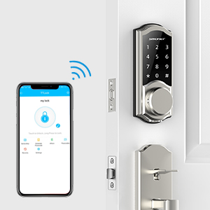 wireless door lock