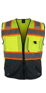 Kolossus-workwear-black-safety-vest