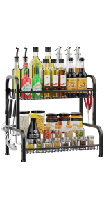 2 tier spice rack