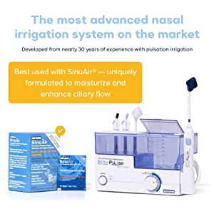 best used with SinuAir formulated saline to soothe and moisturize