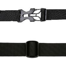 Adjustable Straps & Sturdy Buckles