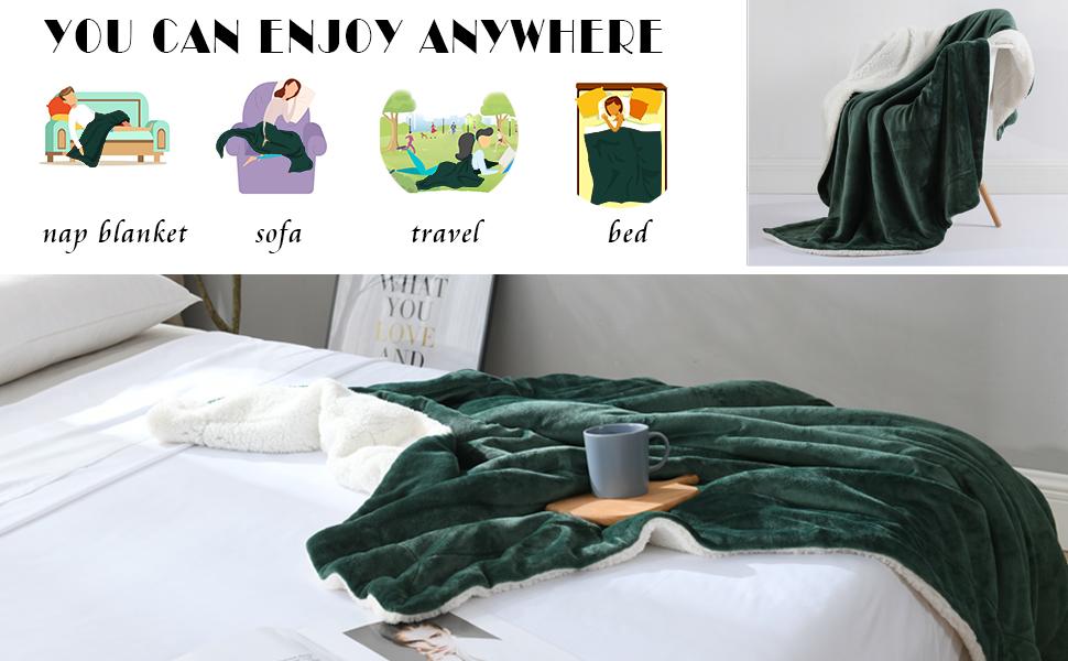plush sherpa blanket