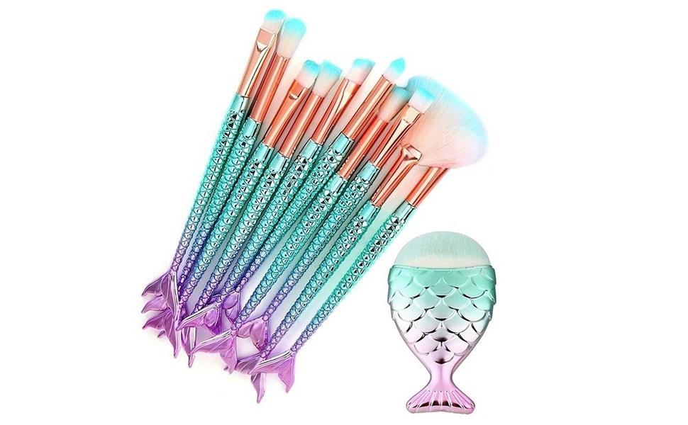 11PCS makeup brushes