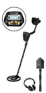 Metal Detector with Shovel amp; Headphone
