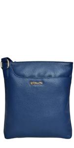 Medium with single front zipper