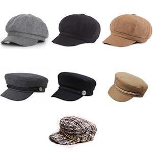 Winter Hats Black for Ladies