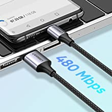 USB C charging cable