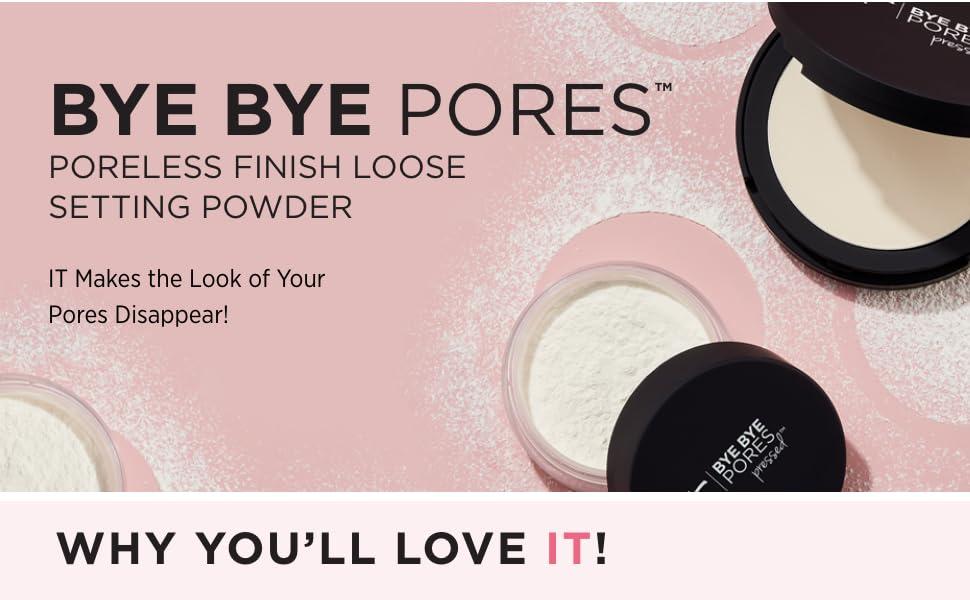 Bye Bye Pores Poreless Finish Loose Setting Powder