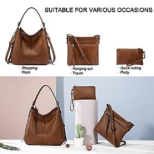 hobo purse set