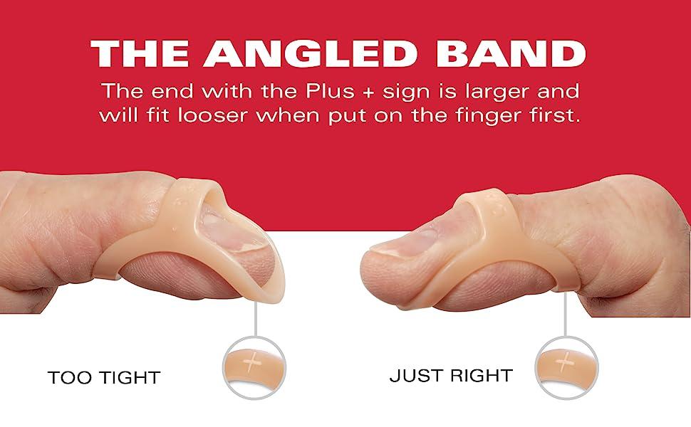 the angled band