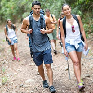 lightweight stretch shorts for outdoor