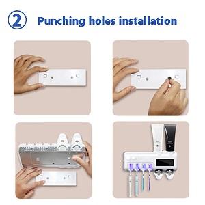 Punching holes installation