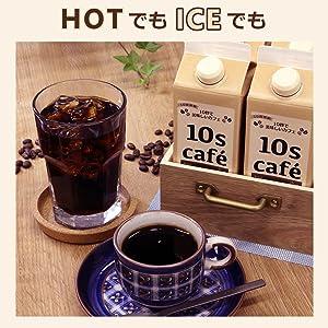 HOT ホット ICE アイス コーヒー