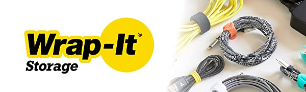 Wrap-It Storage Logo: The best solution to organize and store extension cords, hoses, cable and rope